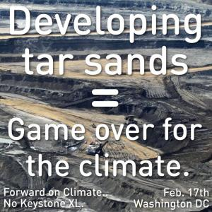 Tar Sands Game Over